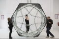 Exhibition on Ove Arup and installation by Achim Menges with Jan Knippers
