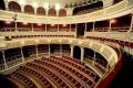 Zuschauerraum des renovierten Stadttheaters in Aschaffenburg, kurz vor der Wiedereröffnung am 28.10.2011.